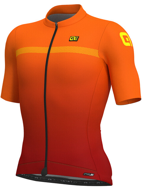 Alé Cycling PRS Fade SS Jersey Men bordeaux-flou orange